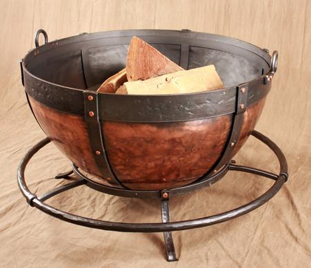Copper Cauldron Fire Pit Ponderosa Forge