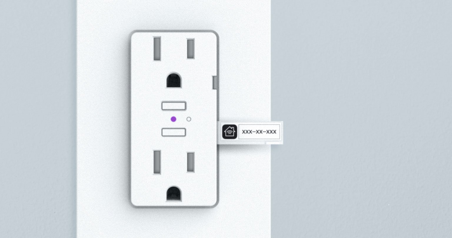 iDevices Wall outlet, Standard size, color and voltage