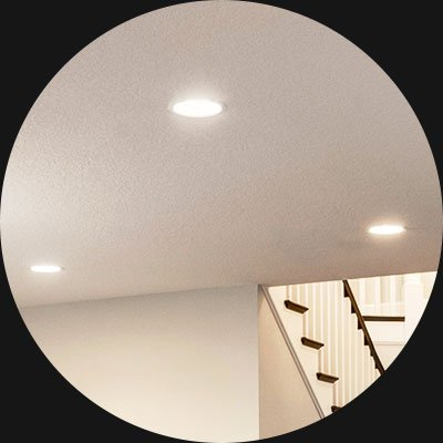 In-wall Switch - Recessed Lights