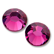 10ss Fuchsia Genuine Swarovski HotFix 2028 Xilion Crystals 10 Gross Sealed Package Wholesale