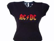 AC/DC sparkly rhinestone concert t shirt