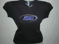 Ace Custom Business Logo Swarovski Crystal T Shirt