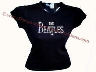 The Beatles Swarovski crystal rhinestone sparkly t shirt
