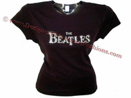 The Beatles Swarovski Crystal Rhinestone T Shirt