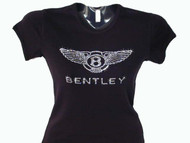 Bentley Swarovski crystal rhinestone bling t shirt