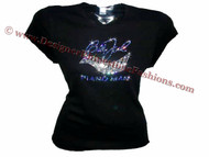Billy Joel Piano ManSwarovski Concert T Shirt