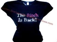 Elton John The Bitch Is Back Swarovski Rhinestone Concert T Shirt