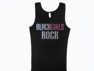 Black Girls Rock Sparkly Rhinestone Swarovski T Shirt
