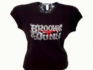 Brooks & Dunn Swarovski Crystal Rhinestone Concert T Shirt