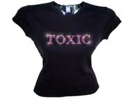 Britney Spears Toxic Concert Swarovski Rhinestone T Shirt