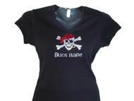 Bucs Babe Swarovski Crystal Rhinestone Sparkly T Shirt