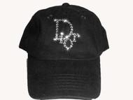 Designer Inspired Swarovski Crystal Rhinestone Hat/Cap