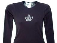 Princess Queen Crown Swarovski Crystal Rhinestone T Shirt