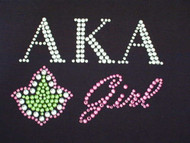 Custom Sorority Logo Swarovski Crystal Rhinestone Design
