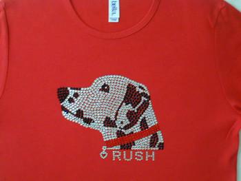 Dalmatian Rhinestone T Shirt