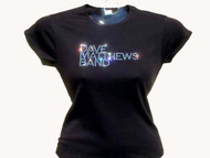 Dave Mathews Band Swarovski Crystal Rhinestone Concert Shirt
