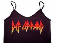 Def Leppard rhinestone concert shirt