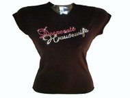 Desperate Housewives TV show Swarovski crystal t shirt