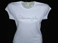Gilmore Girls Sparkly Bling T Shirt Made With Swarovski Rhinestones