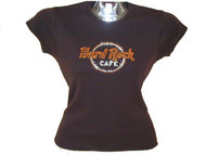 Hard Rock Cafe Rhinestone T Shirt