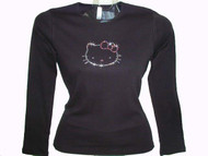 Hello Kitty Rhinestone Bling Tee shirt