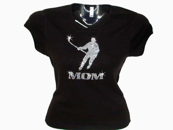 Hockey Mom Swarovski crystal rhinestone shirt
