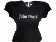 John Mayer Bling Rhinestone T Shirt