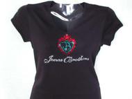 Jonas Brothers Swarovski Crystal Rhinestone T Shirt