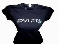 Jovi Girl Swarovski Crystal Rhinestone Concert T Shirt Top