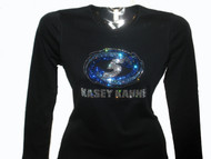 Kasey Kahne Swarovski rhinestone bling t shirt