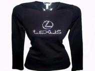 Lexus Swarovski Crystal Rhinestone T Shirt