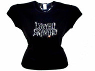 Lynyrd Skyrnd Bling Rhinestone Concert Tee Shirt