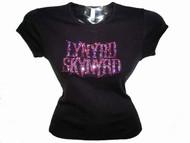 Lynyrd Skynyrd Swarovski Crystal Rhinestone Concert T Shirt