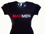 Mad Men TV Show Swarovski Crystal T Shirt