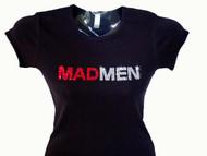 Mad Men TV Show Swarovski Crystal T Shirt