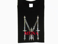 Madonna 2012 Concert Tour Swarovski Crystal Rhinestone T Shirt