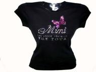 Mimi Mariah Carey rhinestone concert tee shirt