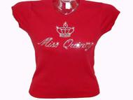 Miss Quincy Swarovski Rhinestone T Shirt