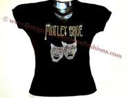 Motley Crue Swarovski crystal t shirt worn by Carrie Underwood