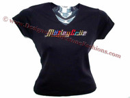 Motley Crue Swarovski rhinestone concert t shirt