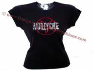 Motley Crue Sparkly rhinestone concert t shirt