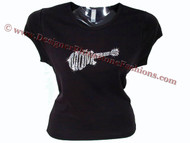 The Monkees Swarovski Crystal Rhinestone T Shirt