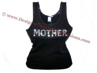 Madonna Mother F*cker Swarovski Crystal Shirt