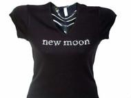 Twilight Eclipse/ New Moon Movie Swarovski Crystal Rhinestone T Shirt