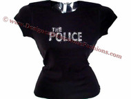 The Police Swarovski Crystal Concert T Shirt