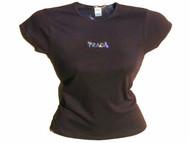 Prada Inspired Swarovski Crystal Rhinestone T Shirt Top