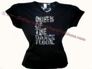 Madonna Queen Of The Dance Floor Rhinestone T Shirt