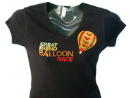 The Great Reno Balloon Race Swarovski Crystal Rhinestone T Shirt