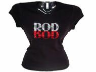 Rod Stewart Swarovski rhinestone sparkly concert t shirt