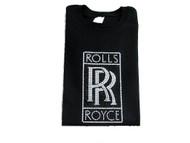 Rolls Royce Bling Swarovski Crystal Rhinestone T Shirt